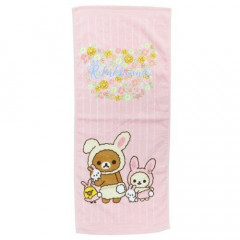 Japan San-X Rilakkuma Fluffy Towel - Easter Bunny