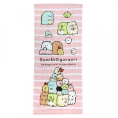 Japan Sumikko Gurashi Fluffy Towel - Pink 2 PCS
