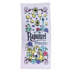 Japan Disney Fluffy Towel - Rapunzel Purple