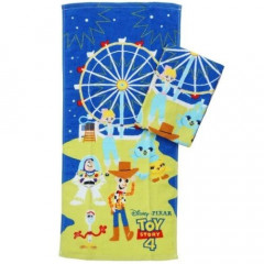 Japan Disney Fluffy Towel - Toy Story 4 Night 2 pcs