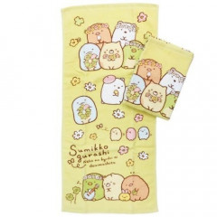 Japan Sumikko Gurashi Fluffy Towel - Flower 2 PCS