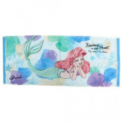 Japan Disney Fluffy Towel - Little Mermaid Ariel Smiling