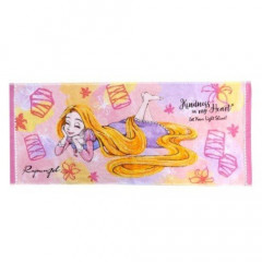 Japan Disney Fluffy Towel - Rapunzel Smiling