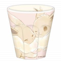 Japan Pokemon Pikachu & Friends Acrylic Cup - Eevee Pink