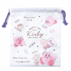 Japan Nintendo Drawstring Bag - Kirby White