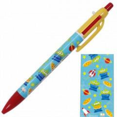 Japan Disney 2 Color Multi Pen & Mechanical Pencil - Toy Story Little Green Men