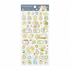 Japan San-X Sumikko Gurashi Seal Sticker - Studying