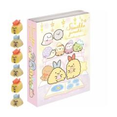Japan San-X Memo & Mini Eraser Set - Sumikko Gurashi / Overnight Party B