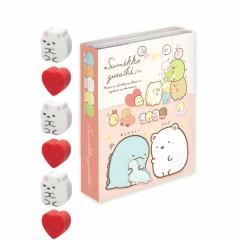 Japan Sumikko Gurashi Sticky Memo & Eraser - White Bear
