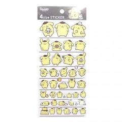 Sanrio Sticker - Pompompurin Pudding Dog Tracing Sticker