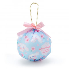 Japan Sanrio Mini Pouch with Ball Chain - Cinnamoroll & Sakura