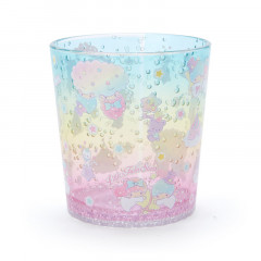 Japan Sanrio Acrylic Cup Clear Airy - Little Twin Stars