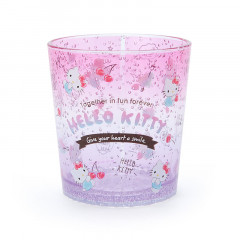 Japan Sanrio Acrylic Cup Clear Airy - Hello Kitty