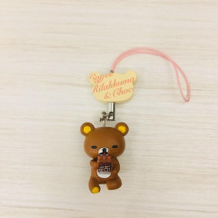 Japan San-X Rilakkuma Chocolate and Coffee Key Charm - Chocolate Bar
