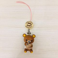 Japan San-X Rilakkuma Chocolate and Coffee Key Charm - Coffee Pot