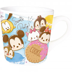 Japan Disney Ceramic Mug - Tsum Tsum Sweets Party