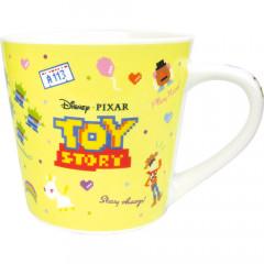 Japan Disney Ceramic Mug - Toy Story Characters Yellow