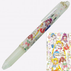 Japan Sailor Moon Hi-Tec-C Coleto 4 Color Set Ball Pen - Light Yellow