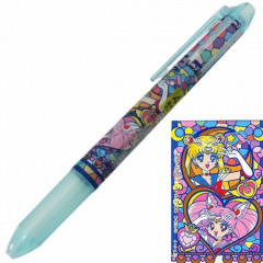 Japan Sailor Moon Hi-Tec-C Coleto 4 Color Set Ball Pen - Light Blue Green