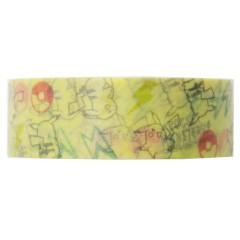 Pocket Monster Pokemon Japanese Washi Paper Masking Tape - Pikachu Yellow