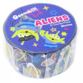 Disney Japanese Washi Paper Masking Tape - Toy Story Little Green Men Aliens with Foil Gold - 1