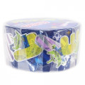 Disney Japanese Washi Paper Masking Tape - Toy Story Little Green Men Aliens with Foil Gold - 2