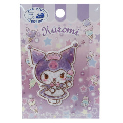 Japan Sanrio Iron-on Applique Patch - Kuromi