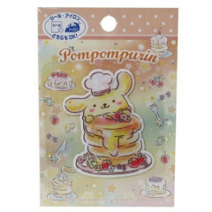 Japan Sanrio Iron-on Applique Patch - Pompompurin & Pancake