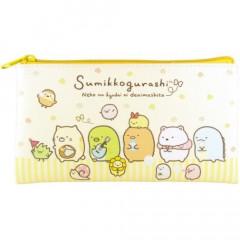 Japan San-X Sumikko Gurashi Pouch (M) - Light Yellow