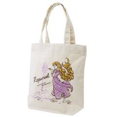 Japan Disney Cotton Shopping Bag - Princess Rapunzel
