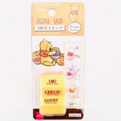Japan Disney Stamp Chop - Winnie The Pooh