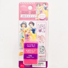 Japan Disney Princesses Stamp Chop - Rapunzel, Jaemine, Snow White