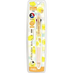 Japan San-X FriXion Ball 3 Slim Multi Color Erasable Gel Pen - Rilakkuma / Lemon