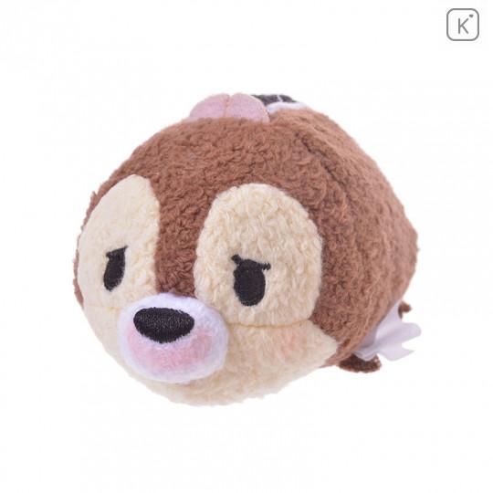 Japan Disney Tsum Tsum Mini Plush - Chip Kafun Face - 1