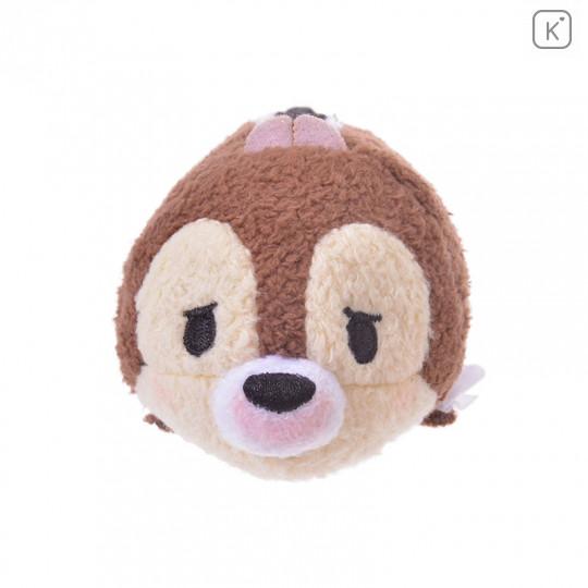 Japan Disney Tsum Tsum Mini Plush - Chip Kafun Face - 2