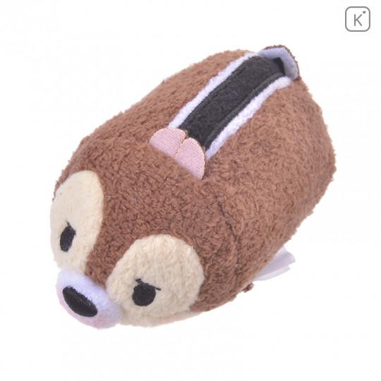 Japan Disney Tsum Tsum Mini Plush - Chip Kafun Face - 5