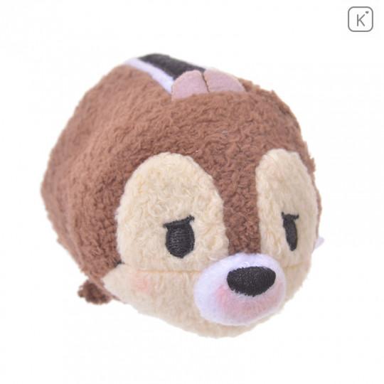Japan Disney Tsum Tsum Mini Plush - Chip Kafun Face - 7