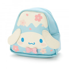 Japan Sanrio Cosmetic Makeup Pouch - Cinnamoroll Fuji