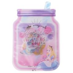 Japan Disney Masking Seal Flake Sticker - Alice in Wonderland Yummy Time