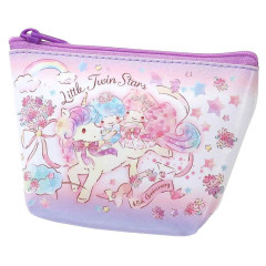 Japan Sanrio Mini Pouch - Little Twin Stars