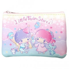 Japan Sanrio Mini Pouch & Tissue Case - Little Twin Stars