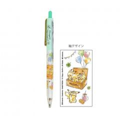 Japan Pokemon Mechanical Pencil - Pikachu Green