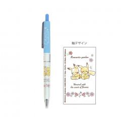 Japan Pokemon Black Ball Pen - Pikachu Blue