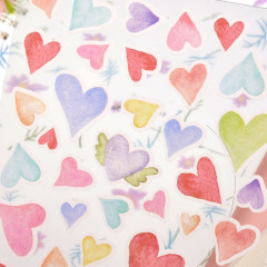 Colorful Stickers - Heart