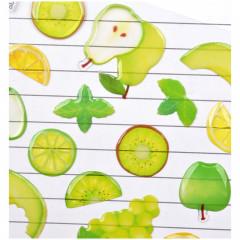 Fruit Stickers - Green Melon Grape