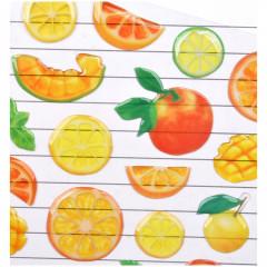 Fruit Stickers - Orange Mango Lemon