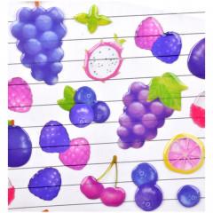 Fruit Stickers - Purple Berry Grape