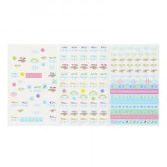 Japan Sanrio Transparent Sticker - Cinnamoroll