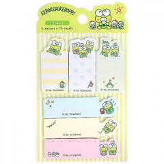 Japan Sanrio Sticky Notes - Kerokerokeroppi