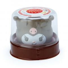 Japan Sanrio Meat Bun Steamer Style Mascot - Kuromi
